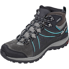 Salomon W's Ellipse 2 Mid LTR GTX Shoes Phantom/Castor Gray/Aruba Blue